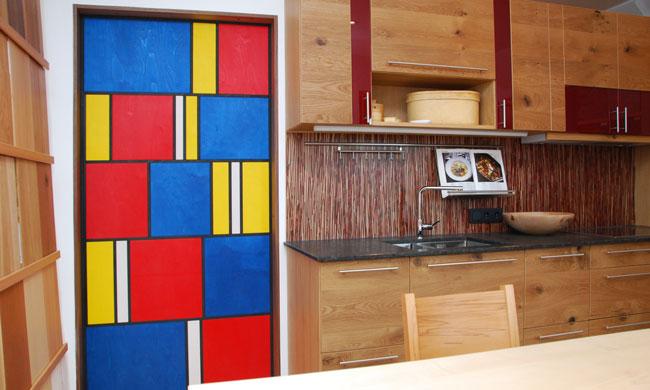 Ausstellungsküche in der Möbelausstellung Rosenheim | Schreinerei Saringer