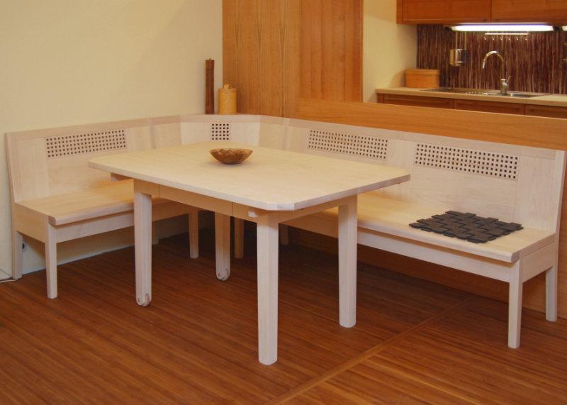 Eckbank nach Maß | Bänke aus Holz im Wunschdesign vom Schreiner