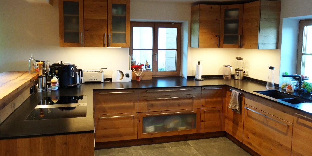 Holzküchen | Küche aus Holz