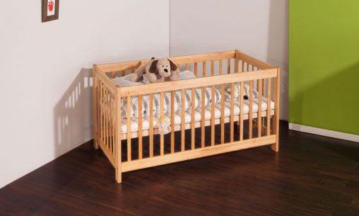 Bio Kinderbett aus Holz