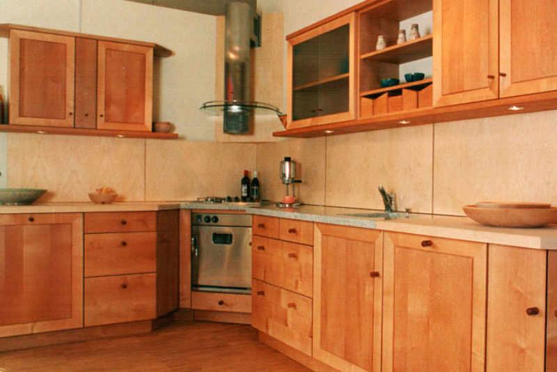 Küche in Ahorn vom Tischler