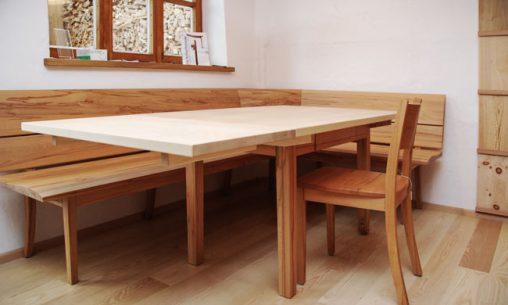 Unsere Ausstellung | Naturholzmöbel für das Esszimmer