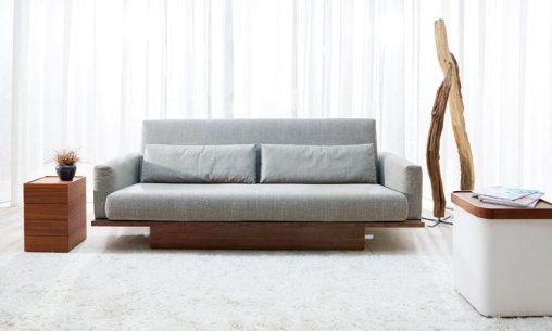 Sofa mit Schlaffunktion. Modell Pio von Signet Möbel.